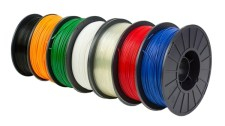 Feed your 3D printer! The Maker Shed has an abundance of PLA and ABS filament in a rainbow of colors. Both 1.75mm and 3mm plastic is in-stock and available for your printing pleasure. You can never have too much filament!