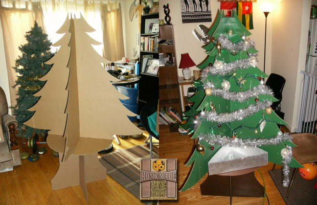The Beauty of the Ultimate Cardboard Christmas Tree