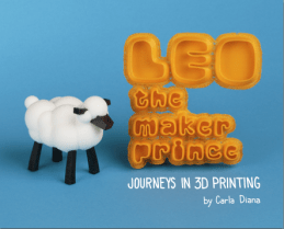 Carla Diana December 2013 Maker Shed Here's another book I had the pleasure of editing. It's our first children's book, and as best I can tell, the first book on 3d printing for kids. Follow Carla's journey as she meets a robot in New York City who can scan and print 3d objects.