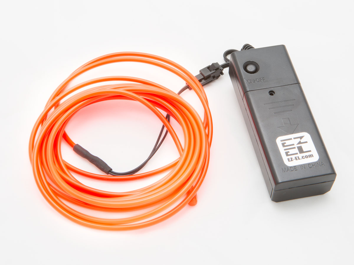 Make it Glow This Holiday With EL Wire