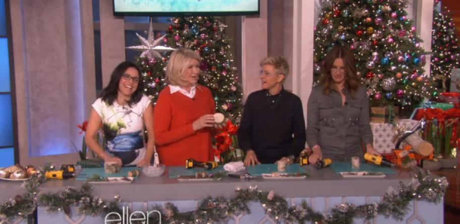 A Hilarious Appearance of Martha Stewart on Ellen