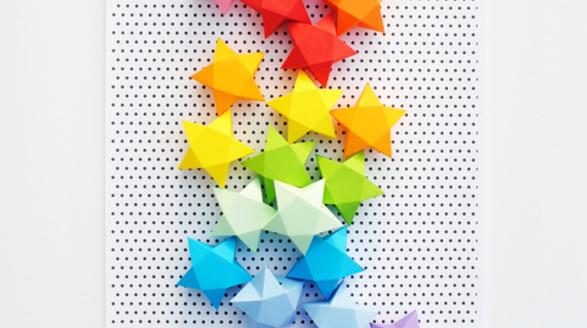 How-To: Cut-and-Fold Paper Stars