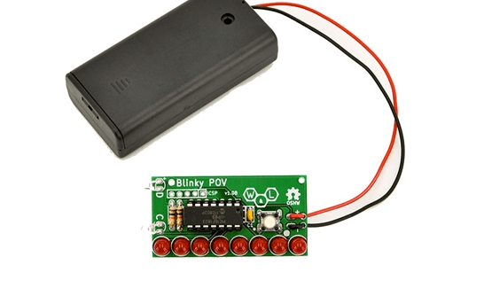 The Persistently Cool Blinky POV Kit