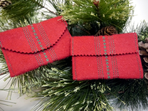How-To: Wool Gift Card Envelopes