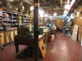Conrad gave me special permission to go downstairs so I nosed around a little bit. This is the machine shop for the plant.