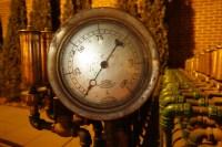 The calliope's steam gauge