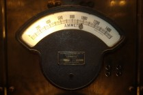 Westinghouse Electric & Mfg. Co. ammeter