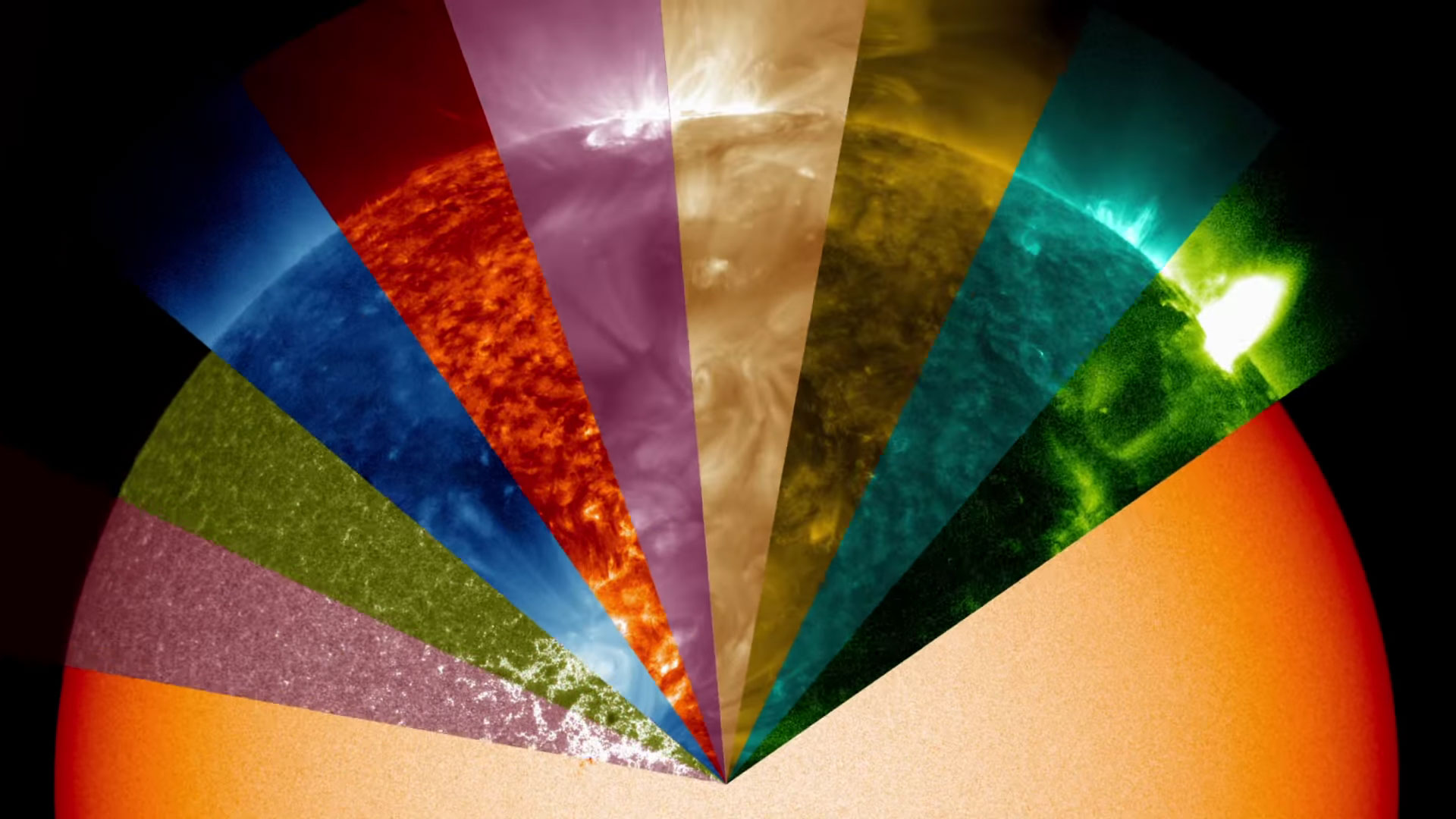 See The Sun Through Different Wavelengths Of Light