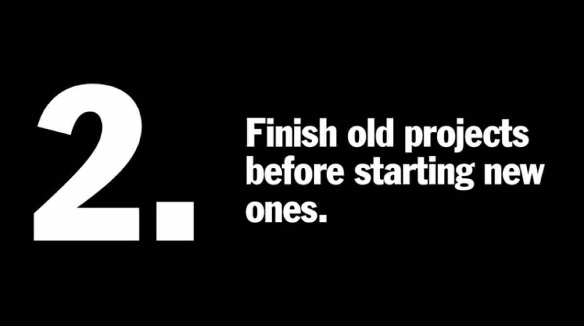 New Year's Resolutions for Creative People
