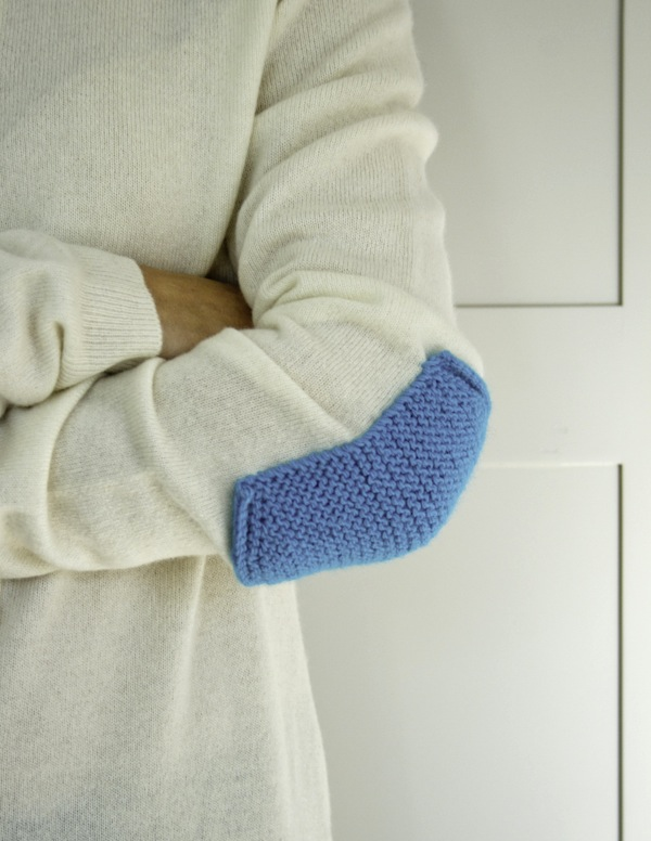 How-To: Simple Knit Elbow Patches