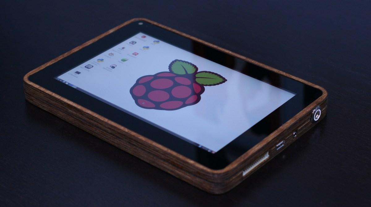 How I Built A Raspberry Pi Tablet Make
