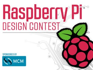 Thanks to all the makers for participating in the first ever Raspberry Pi Design Contest, sponsored by MCM Electronics.