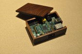 Some times all you need a bit of scrap wood for inspirations. I had some 8/4? walnut left over from a previous project. I just love the look of Walnut and when it came to making an enclosure for the Raspberry Pi. Project Link