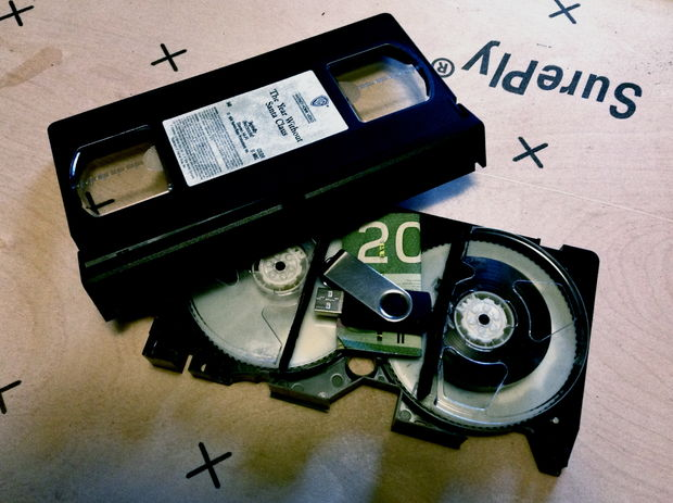 How-To: VHS Tape Secret Compartment