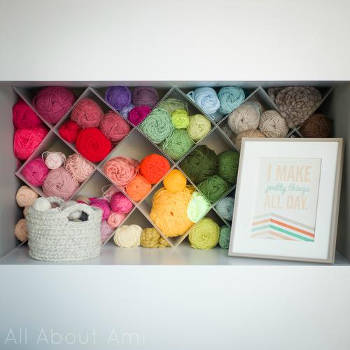 How-To: DIY Yarn Storage Shelving Inserts