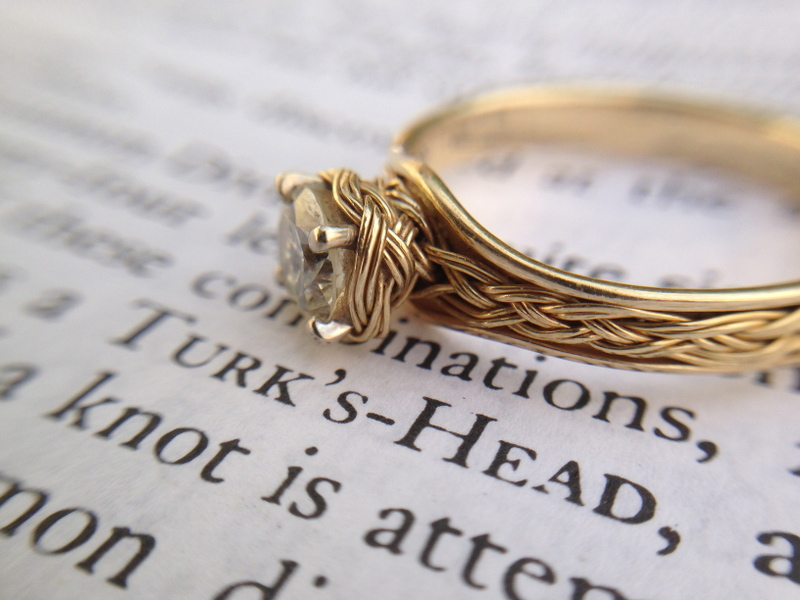 Tying the (Turk's Head) Knot — How I Made an Engagement Ring