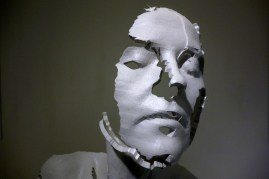 Memorial Bust of a Woman (detail, 2013) by Sophie Kahn