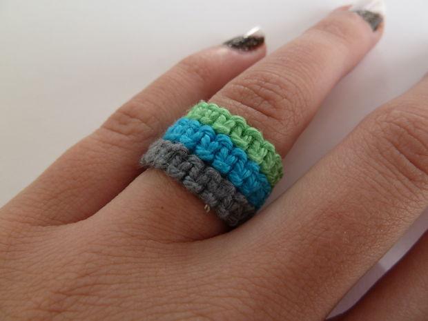 How-To: Macrame Rings