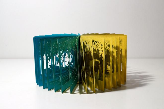 Cut-Out Paper Jungle Book