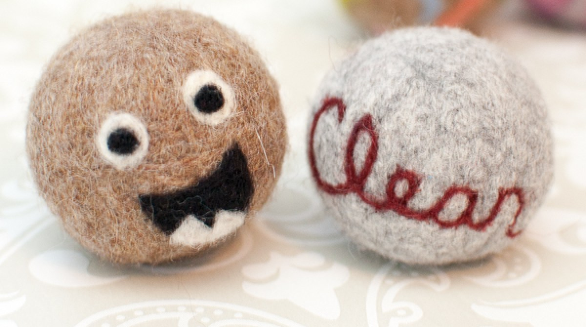 3 Ways to Make Felted Wool Dryer Balls