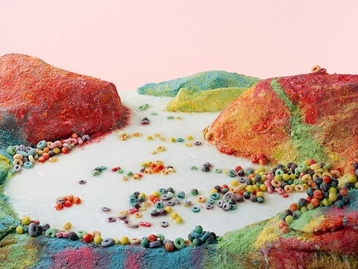 Landscape Photographs of Processed Foods