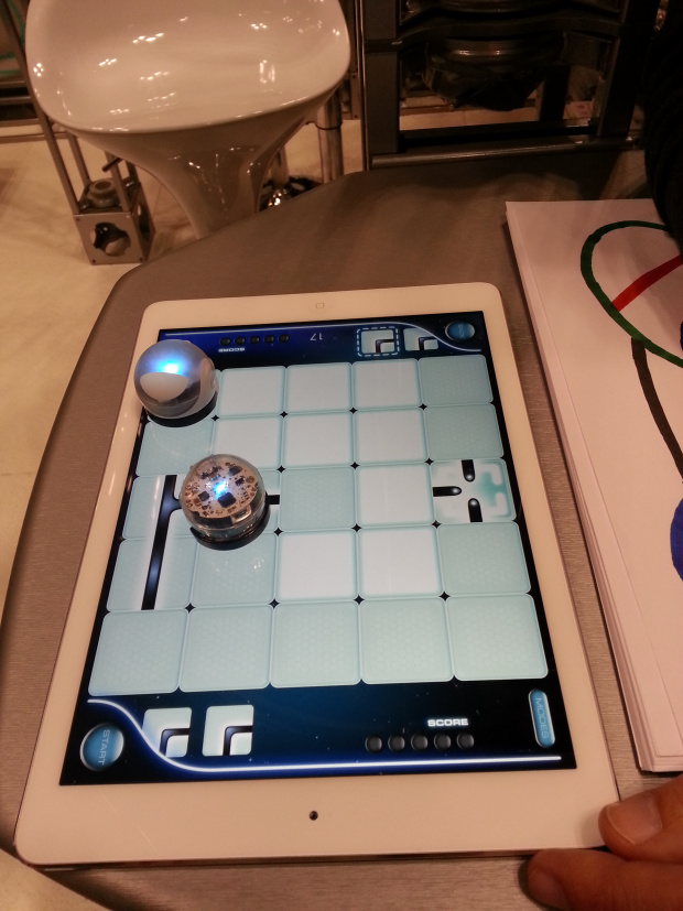 Drive Around Your Tablet with Ozobot