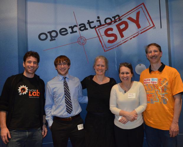 NoVa Makers Infiltrate The International Spy Museum