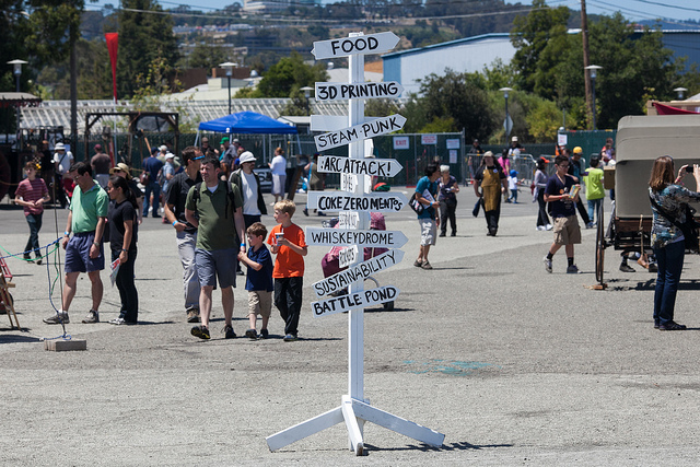 Wayfind Your Way to Maker Faire for FREE with SketchUp Software