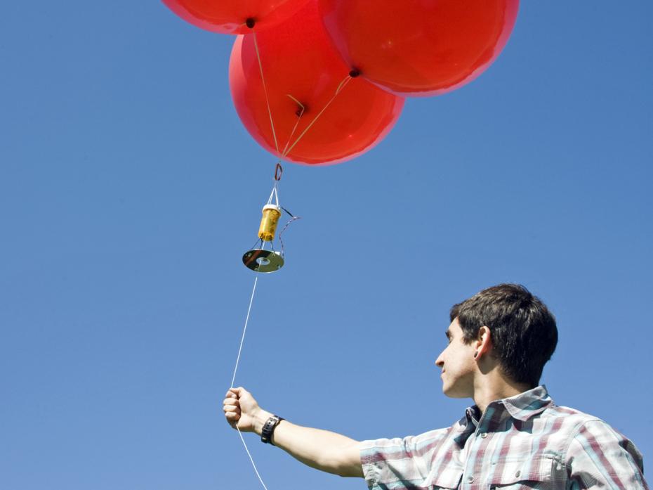 """Balloon Imaging """"Satellite"""""""
