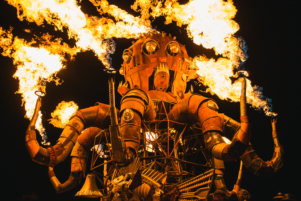 Image result for steampunk octopus burning man