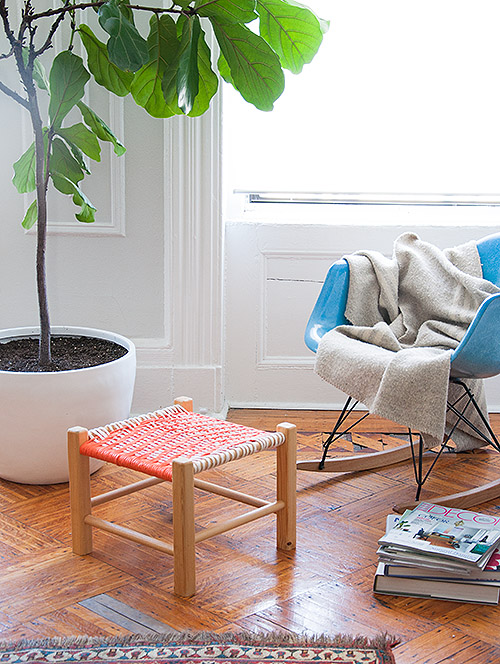 How-To: Twill Woven Stool