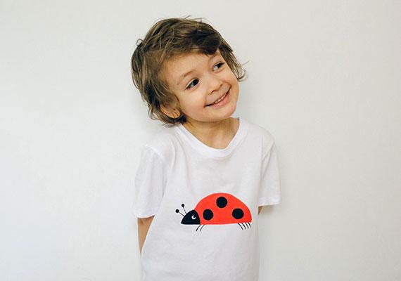 How-To: Ladybug Kids Tee