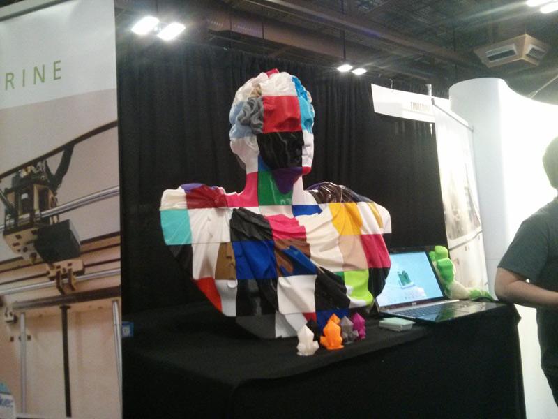 George Crowdsourcington: Distributing Large Scale 3D Print Jobs