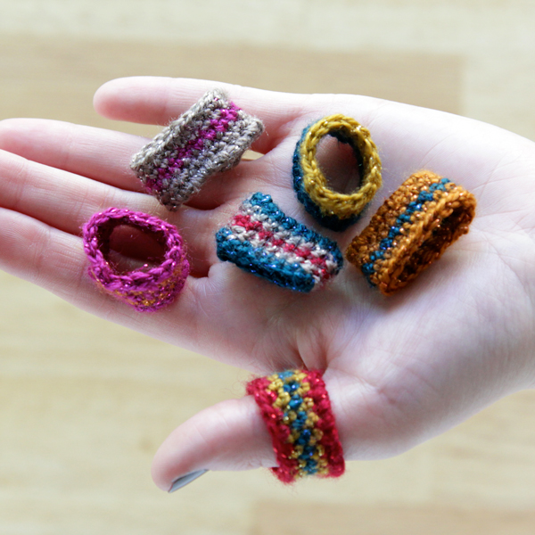 How-To: Crocheted Rings