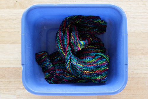 How-To: Set Yarn Colors to Prevent Them from Running