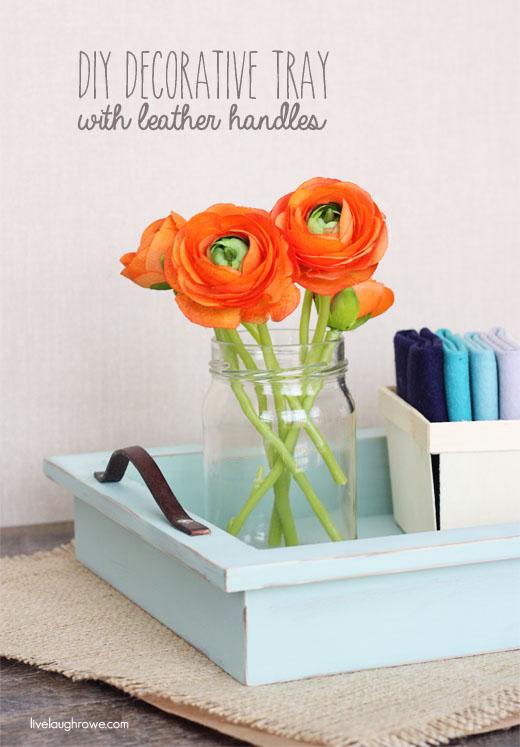 How-To: Decorative Tray