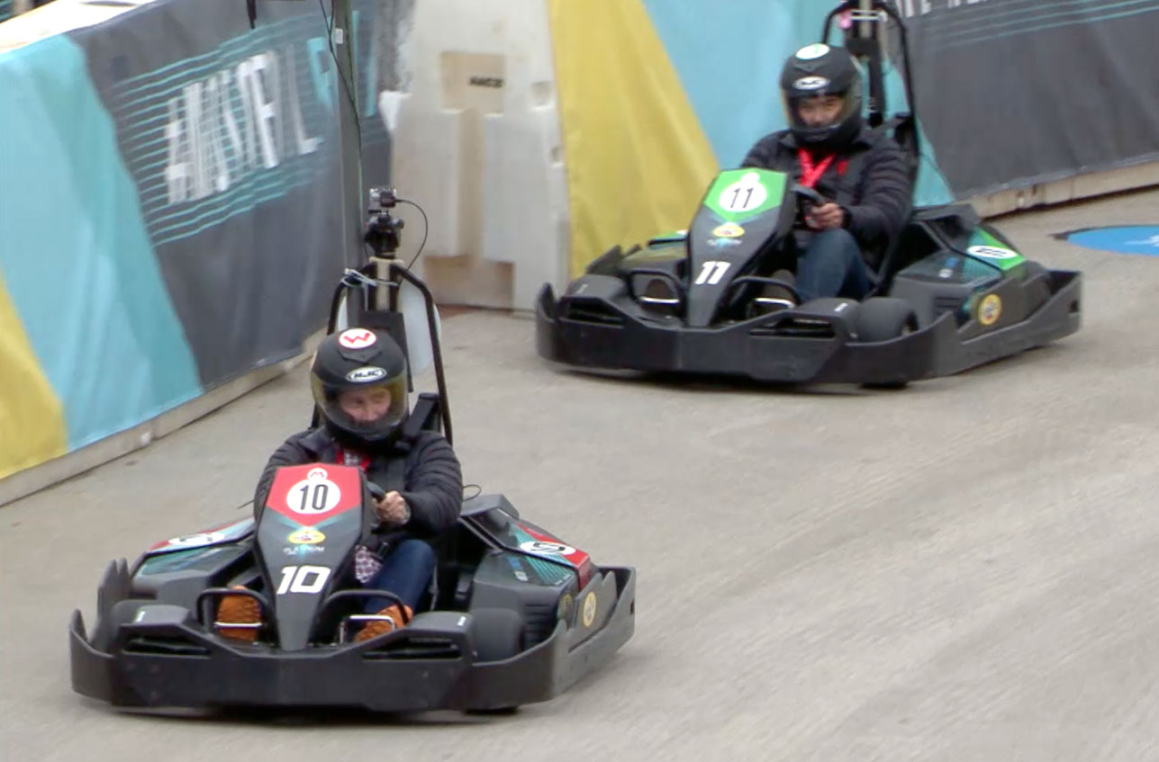 RFID Power Ups Transform Go-karting Into Mario Karting