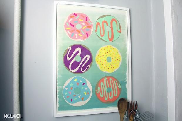 How-To: DIY Donut Art