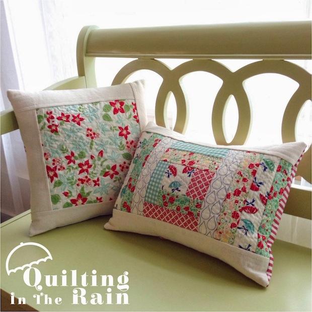 How-To: Quilt-As-You-Go Improv Pillows