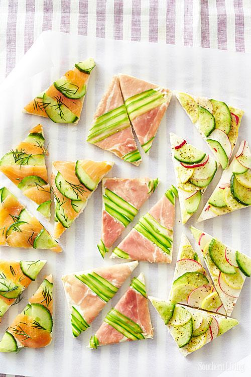 How-To: Mosaic Tea Sandwiches