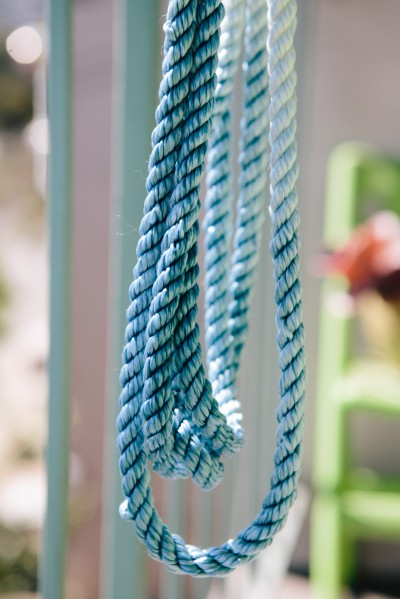 Hand-Dyed Ombre Necklace