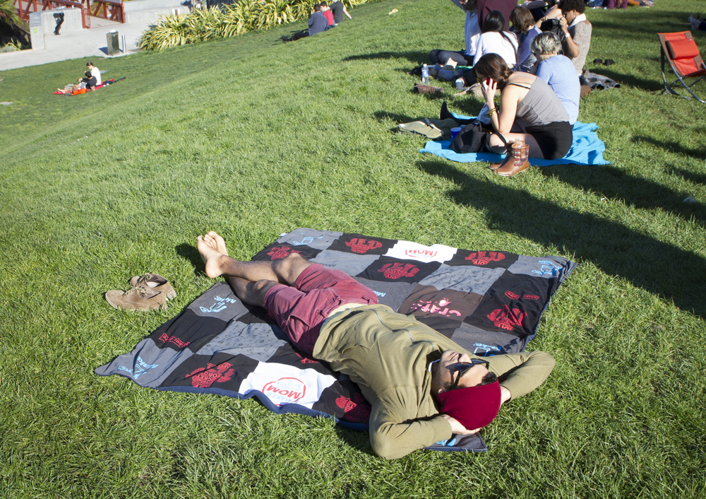 Project Repat: Transforming Well-Loved T-Shirts into Quilts
