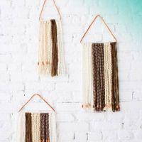 yarn wall hangings