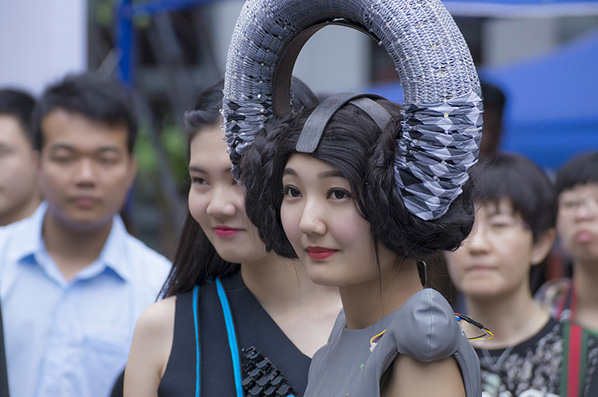 Extreme Fashion and Dancing Robots at Maker Faire Shenzen