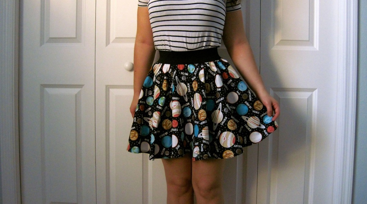 How-To: Fifteen Minute Skirt