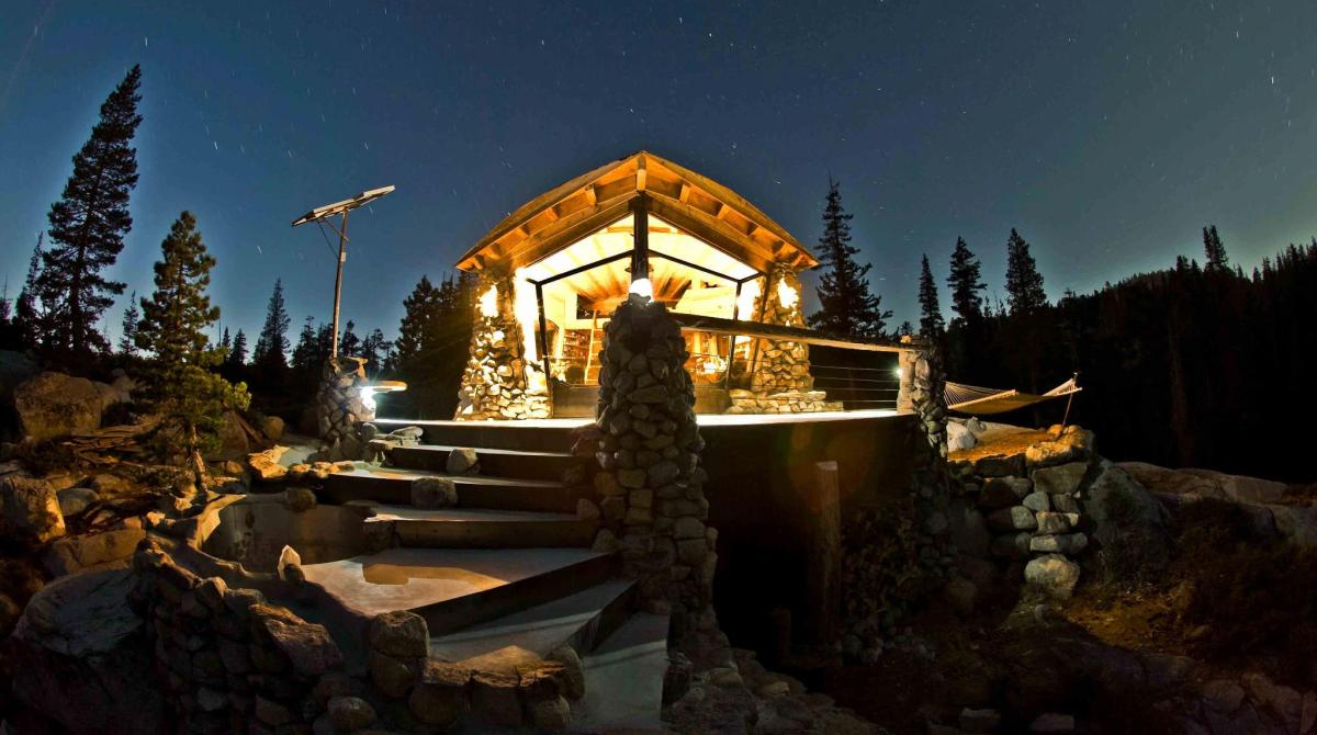 Pro Snowboarder Mike Basich's Off-Grid DIY Home in the