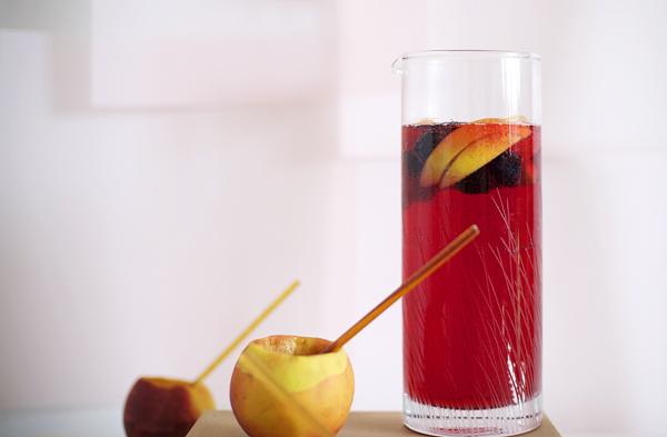 Recipe: Mock Raspberry Peach Bellini