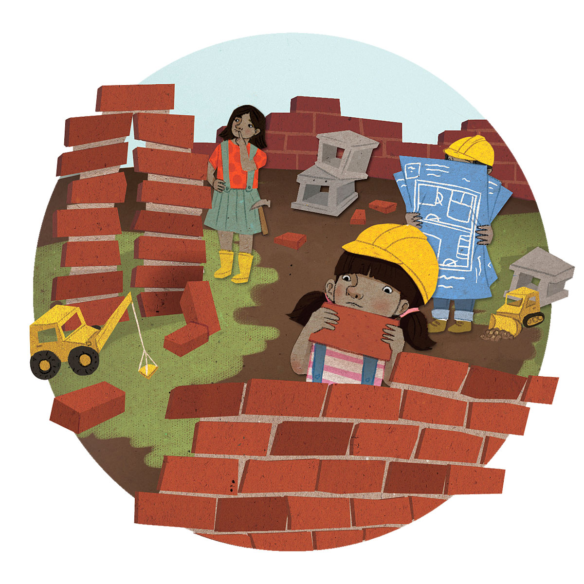 What Sticks About Play and Bricks