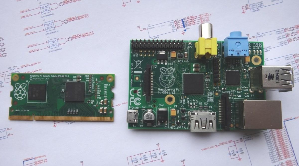 "Raspberry Pi Unveils Tiny New ""Compute Module"""