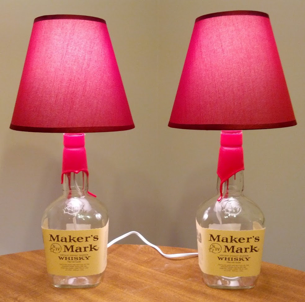 How-To: DIY Bottle Lamps